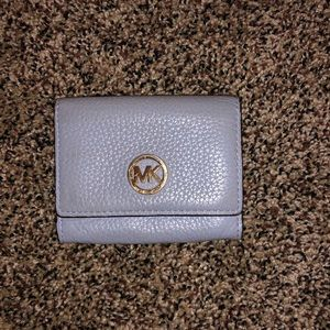 Michael Kors wallet/coin pouch blue